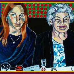 Family Seder- Cousin & Grandma