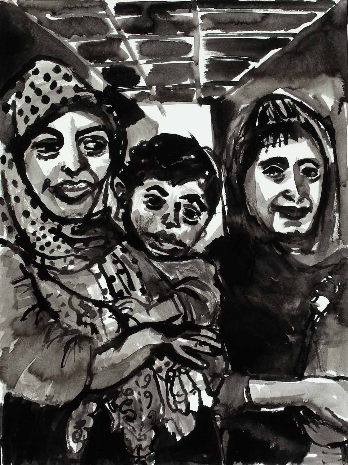 Occupation Series: Two Women and a Baby