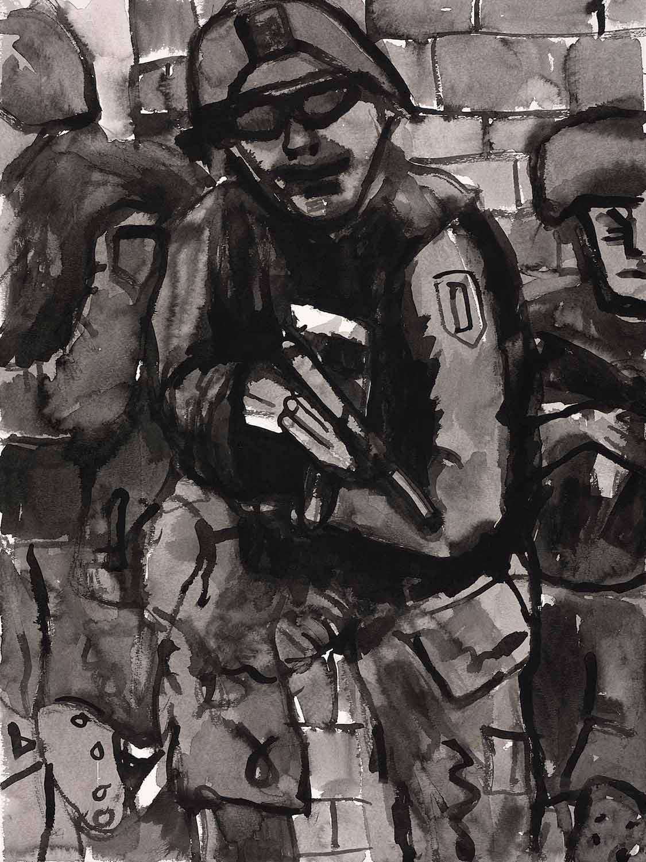 Occupation Series: Soldier with Gun