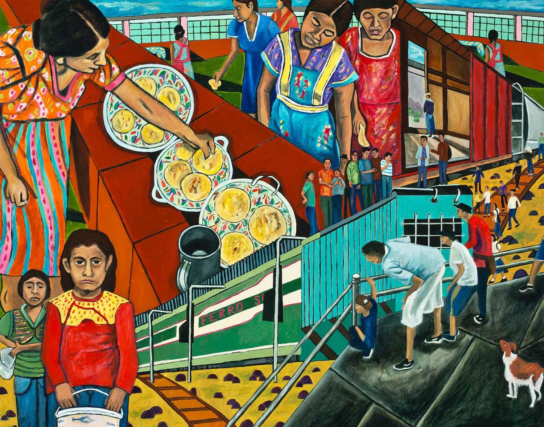 The Great Migration from El Salvador to Santa Cruz Series: Tortillas