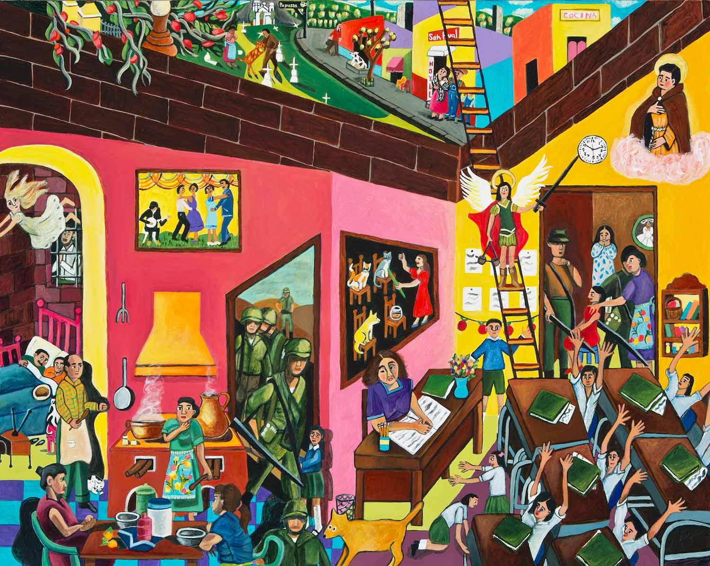 The Great Migration from El Salvador to Santa Cruz Series: The Classroom