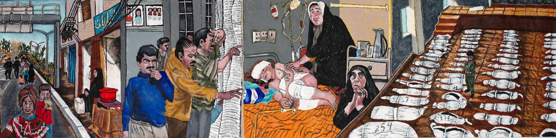 Occupation Series: Mural #3: Hospital