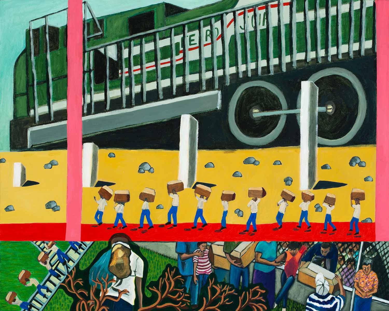 The Great Migration from El Salvador to Santa Cruz Series: El Tren del Sur